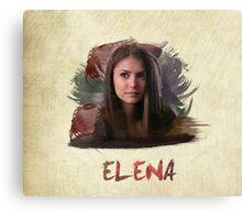 Elena - The Vampire Diaries Canvas Print