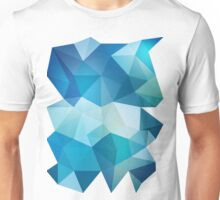 Abstract Geometric Polygon Sea Unisex T-Shirt