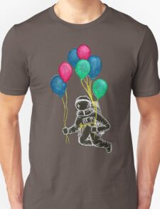 Balloons cost less than rockets Unisex T-Shirt