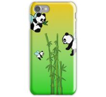 Flying pandas iPhone Case/Skin