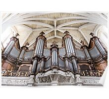 Bordeaux Cathedral Organ Poster