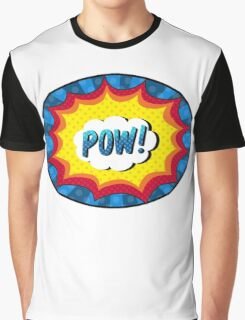 POW! Comic book action Graphic T-Shirt