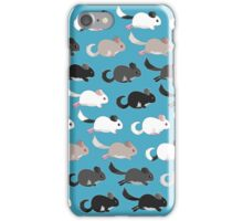 Choo choo chinchillas iPhone Case/Skin