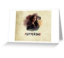 Katherine - The Vampire Diaries Greeting Card