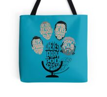 Where's Larry? Podcast Tote Bag