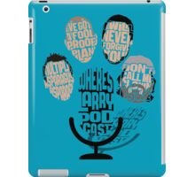 Where's Larry? Podcast iPad Case/Skin