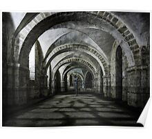 Winchester Cathedral Crypt Poster