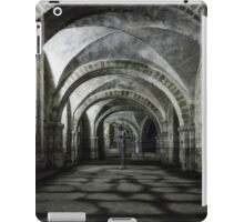 Winchester Cathedral Crypt iPad Case/Skin