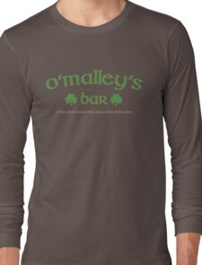 O'Malley's Bar Long Sleeve T-Shirt