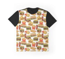 Fast Food - Or, All the Nice Things I Can't Have - White Graphic T-Shirt