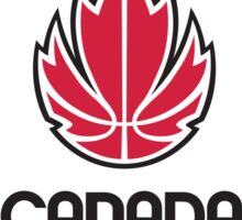 canada basketball Sticker