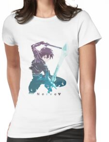 Two Sword Style Womens Fitted T-Shirt