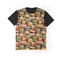 Fast Food - Or, All the Nice Things I Can't Have - Charcoal Graphic T-Shirt