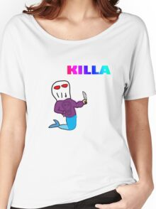 KILLA Women's Relaxed Fit T-Shirt