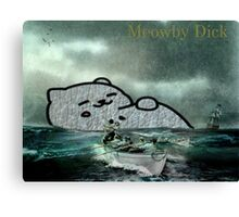 Meowby Dick Canvas Print