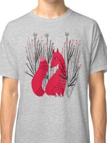 Fox in Shrub Classic T-Shirt