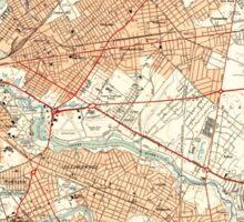 USGS TOPO Map New Jersey NJ Camden 254232 1949 24000 Sticker