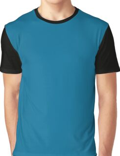 Sea Blue Graphic T-Shirt