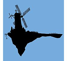 Feel Good Inc. Windmill Silhouette (Gorillaz) Photographic Print