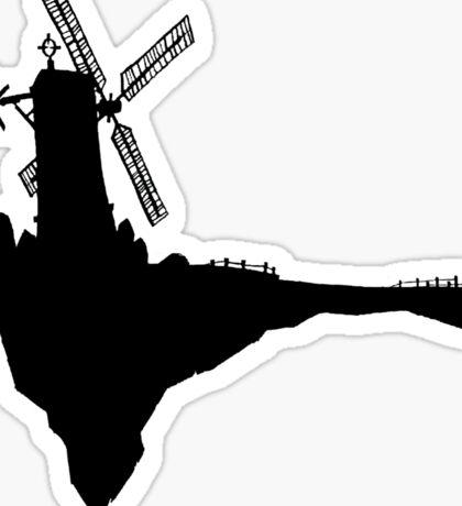 Feel Good Inc. Windmill Silhouette (Gorillaz) Sticker