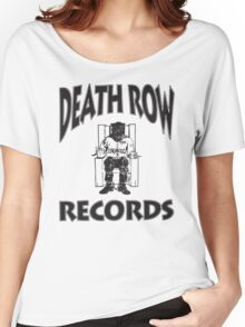 Death Row Records  Women's Relaxed Fit T-Shirt