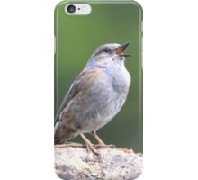 """ Cetti's Warbler "" iPhone Case/Skin"