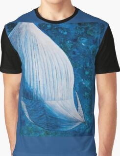 Spinnaker from above art work in mixed media Graphic T-Shirt