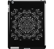 Black Skull Bandana  iPad Case/Skin
