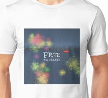 Denim Jeans - Free To Create Unisex T-Shirt