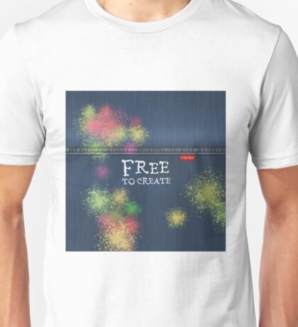 Denim Jeans - Free To Create Unisex T-Shirt