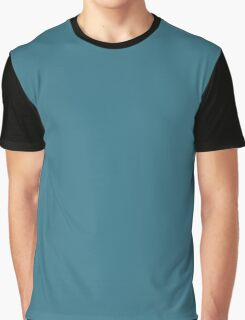 Teal Blue  Graphic T-Shirt