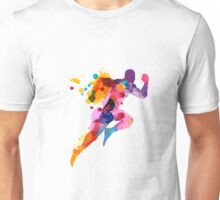Splash runner Unisex T-Shirt