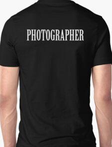 Photographer shirt Unisex T-Shirt