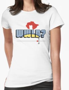 WWLD? Womens Fitted T-Shirt