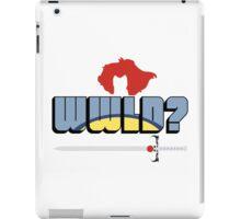 WWLD? iPad Case/Skin