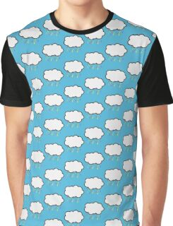 Colorful Rain Clouds Graphic T-Shirt