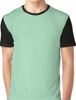 Turquoise Green  Graphic T-Shirt