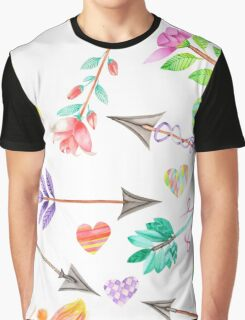 Arrows & Hearts  Graphic T-Shirt
