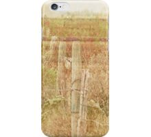 The Fence Line iPhone Case/Skin