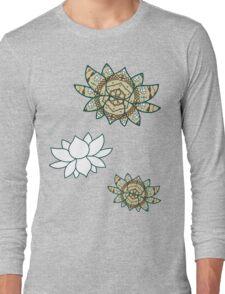 The Lotus Long Sleeve T-Shirt