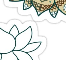 The Lotus Sticker