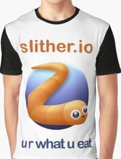 Slither.io - u r what u eat Graphic T-Shirt