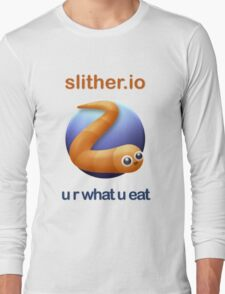 Slither.io - u r what u eat Long Sleeve T-Shirt