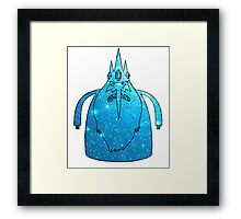 Ice King - Galaxy Edition Framed Print