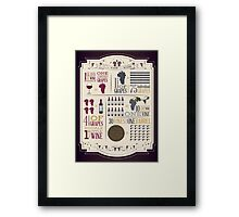 From Vine to Wine Framed Print