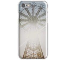 Coney Island Parachute Jump iPhone Case/Skin