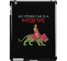 My other means of transportation just so happens to be a battlecat iPad Case/Skin
