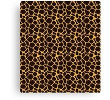 Animal Texture Skin Background 2 Canvas Print