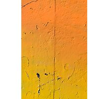Colorful painted wall Photographic Print