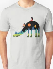Up And Down Unisex T-Shirt